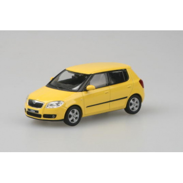 Abrex Škoda Fabia II. Sprint Yellow Uni