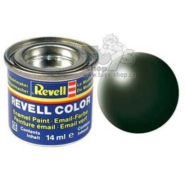 Revell emailová barva 32363 hedvábná tmavě zelená