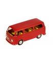 Kovap Auto VW mikrobus T2 červený kov 12cm v krabičce Kovap