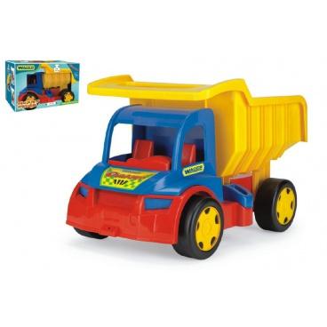 WADER Auto Gigant Truck sklápěč  plast 55cm v krabici 12m+