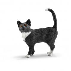 Schleich Zvířátko - kočka stojící