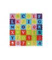 smt creatoys Pěnové puzzle abeceda a čísla asst mix barev 36ks 15x15x1cm