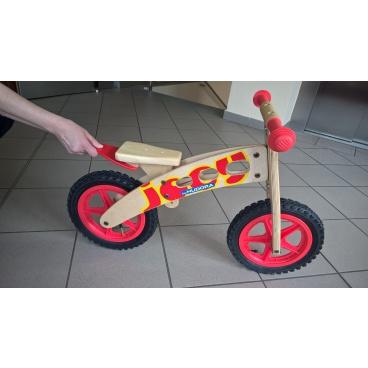 HUDORA Dětské dřevěné odrážedlo