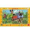 Dino dětské puzzle Krtek a lokomotiva        15D
