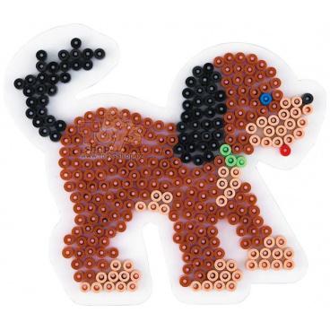 HAMA zažehlovací korálky - MIDI podložka pes