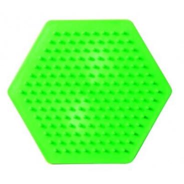 SES Zažehlovací korálky samostatná podložka - šestiúhelník
