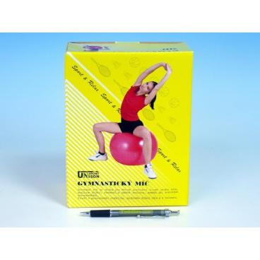 UNISON Gymnastický míč relaxační 85cm asst 4 barvy v krabici