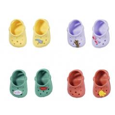 Zapf BABY born Gumové sandálky, 4 druhy, 43 cm