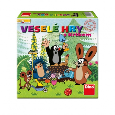 Dino Hry Dino Veselé hry s Krtkem hra dětská
