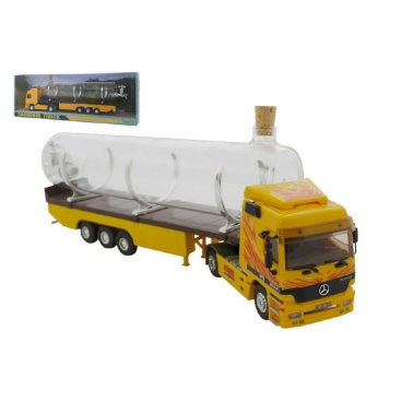 Monti System Stavebnice Monti 55/1 Souvenir Truck 32cm sběratelský model+ skleněná lahev v krabičce