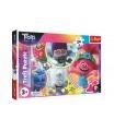 Trefl Puzzle maxi 24 dílků Hudební svět Trollů/Trolls world tour 60x40cm v krabici 40x27x4,5cm