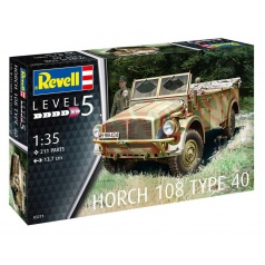 Revell Plastic ModelKit military 03271 - Horch 108 Type 40 (1:35)