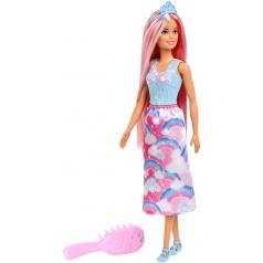 Mattel Barbie DLOUHOVLÁSKA S HŘEBENEM FXR94