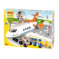 Ecoiffier Abrick Letadlo