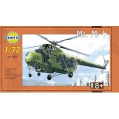 Směr plastikový model vrtulní Mil Mi-4 1:72