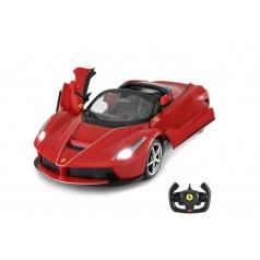Conquest Auto RC Ferrari LaFerrari Aperta plast 34cm na baterie v krabici 44x18x25,5cm