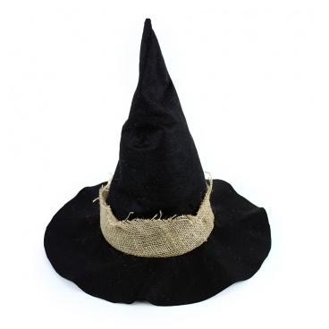 Karnevalový klobouk čarodějnický pro dospělé