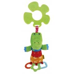 K´s Kids Úchyt na kočárek - krokodýl KrokoBloko v displeji po 12 ks