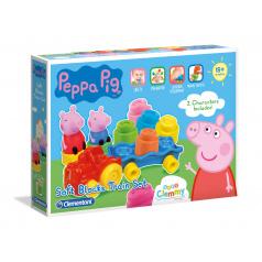 Clementoni Clemmy baby - Peppa Pig - vláček s kostkami