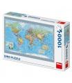 Dino puzle Politická mapa světa 1000D