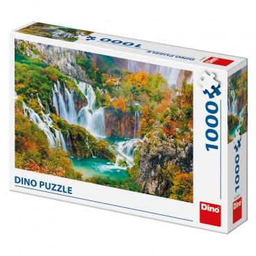 Dino Ostatní Dino puzzle Plitvická jezera 1000D