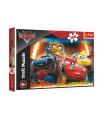 Trefl Puzzle Disney Cars 3/Extrémní závod 100 dílků 41x27,5cm v krabici 29x19x4cm