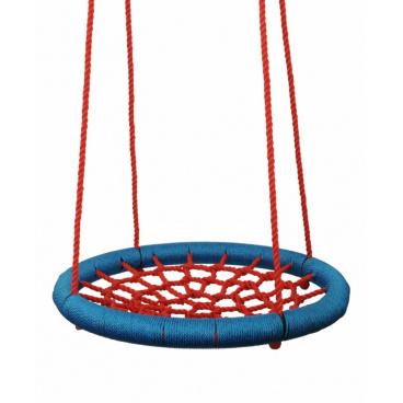 Woody 91401 Houpací kruh (průměr 85cm) - červený