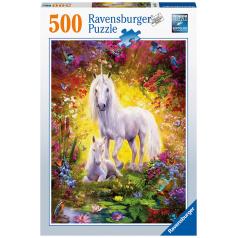 Ravensburger Jednorožec s mláďaťom 500 dielikov