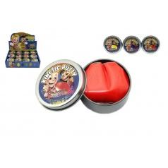 Teddies Hmota/modelína 40g inteligentní skákací 6cm asst mix barev v plechové krabičce
