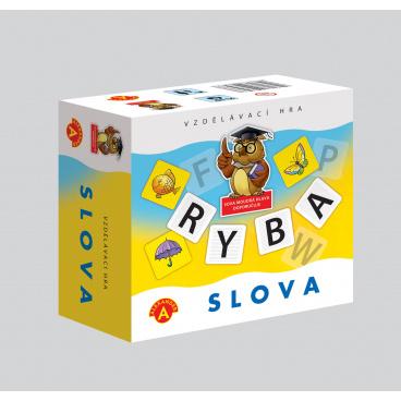 Alexander Slova didaktická společenská hra v krabičce 13,5x12,5x6cm
