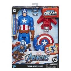 Hasbro Avengers figúrka Capitan America s Power FX príslušenstvom