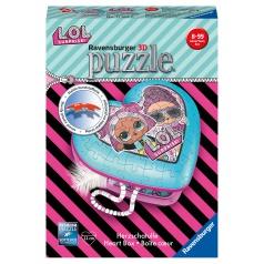 Ravensburger 3D puzzle Srdce L.O.L.