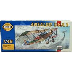 Směr Model Ansaldo S.V.A.5 1:48 16,3x18,2cm v krabici 31x13,5x3,5cm