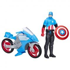 Hasbro Avangers Capitán America, figurka s vozidlem asst 2 druhy