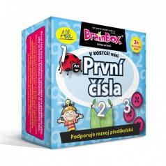 ALBI hra Brainbox V kostce! mini - První čísla