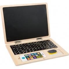 Rappa Small Foot Dřevěný notebook magnetický