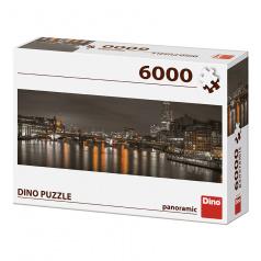 Dino V NOCI, LONDÝN 6000 PUZZLE NOVÉ