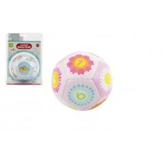 Teddies Chrastítko míček 12cm asst 2 barvy v blistru 3m+