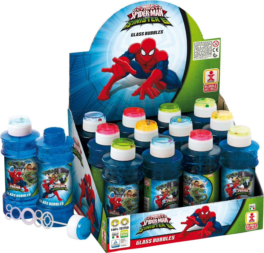 Bublifuk Spider-man 300ml (display 12 ks)