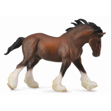Collecta zvířátka Collecta Clydesdalský kůň - hnědý