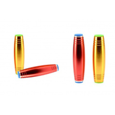 Fidget Tumbler kov 9,5cm antistresový váleček asst 6 barev v krabičce