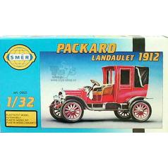 Směr model auta Packard Landaulet 1912 12,7x5,8cm v krabici 25x14,5x4,5cm