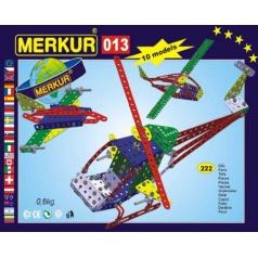 MERKUR M013 kovová stavebnice Vrtulník, Letadlo