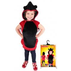Dětské karnevalový kostým Beruška s kapucí velikost S