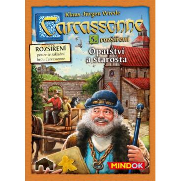 hra Carcassonne Opatství a starosta - rozšíření 5