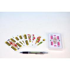 Hrací karty, s.r.o. Mariáš dvouhlavý společenská hra karty v plastové krabičce 7x11cm