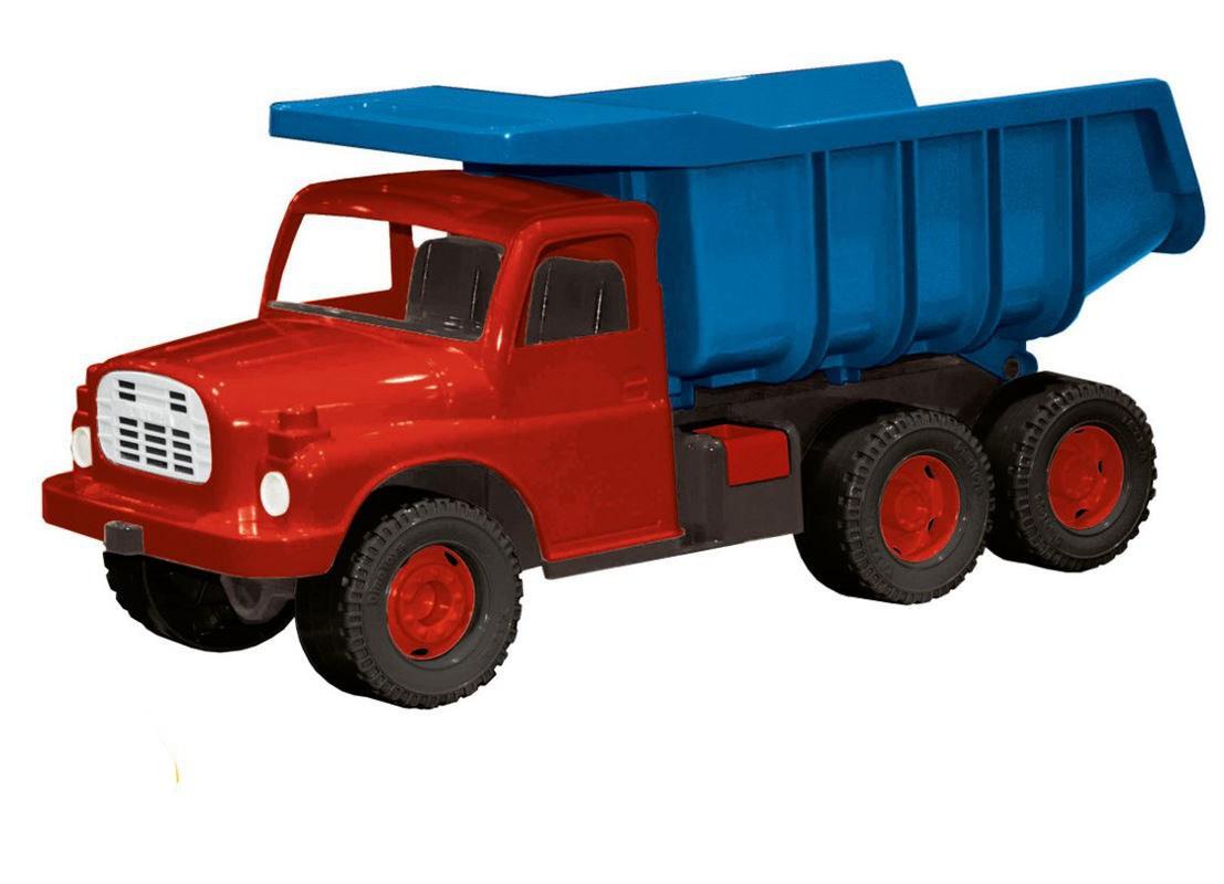 Dětská plastová Tatrovka Tatra 148 na písek modro-červená