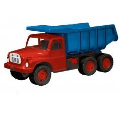 Dino Dětská plastová Tatrovka Tatra 148 na písek modro-červená, 73cm