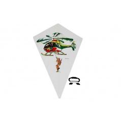 Wiky Drak létající 48x71cm asst 4 druhy