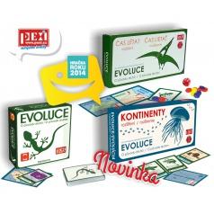 PEXI Společenská hra EVOLUCE-trilogie